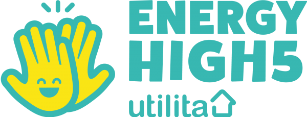 Utilita - Energy High 5 Logo