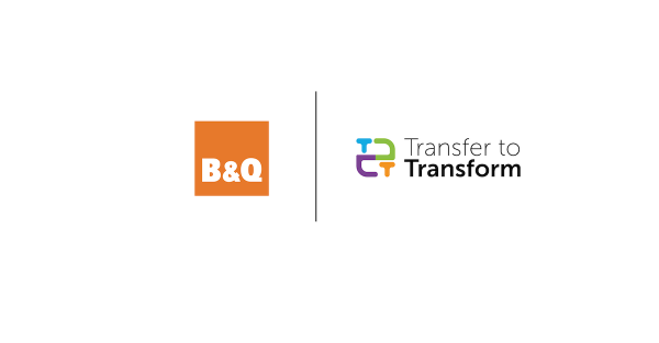 B&Q Joins Transfer to Transform