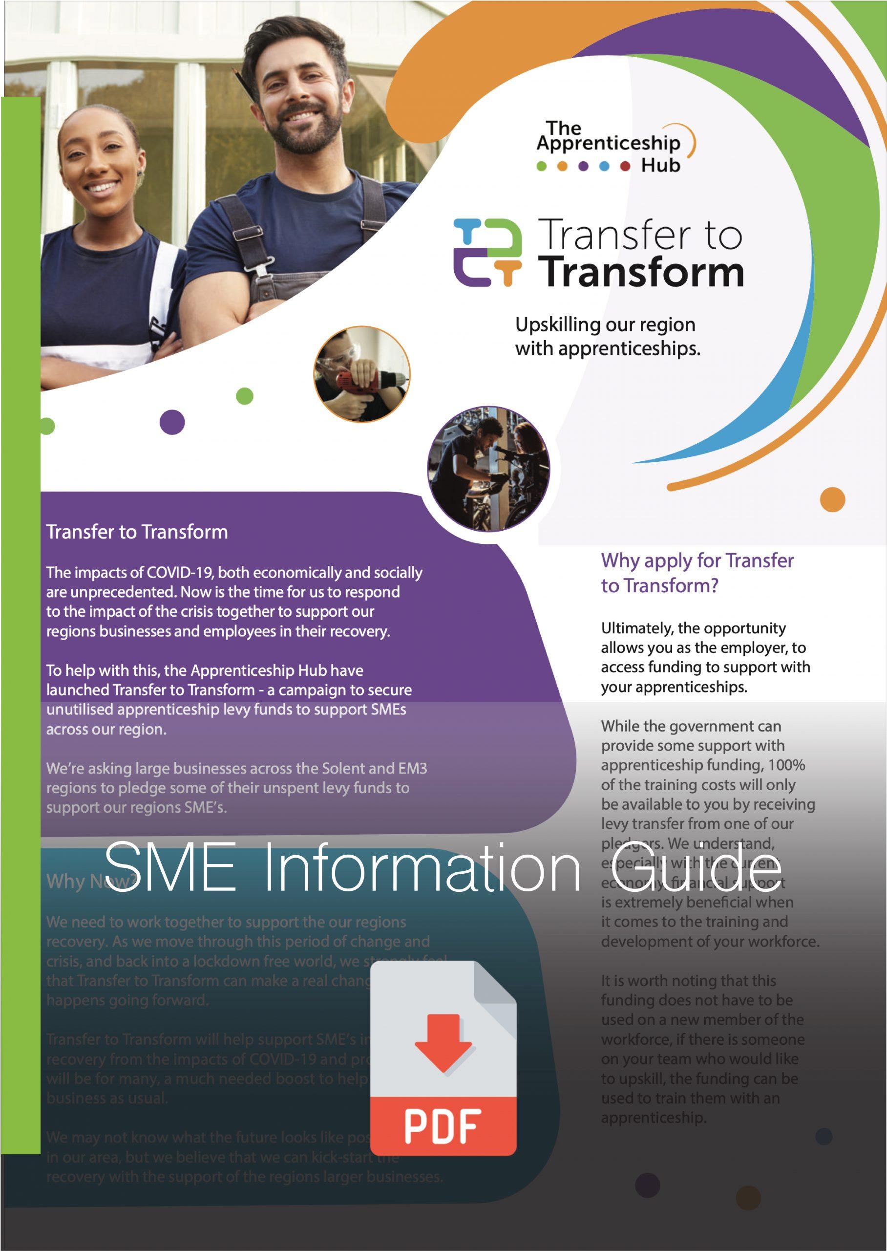 SME Transfer to Transform Information